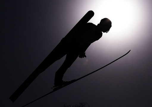 Image of Modern Ski Jumper