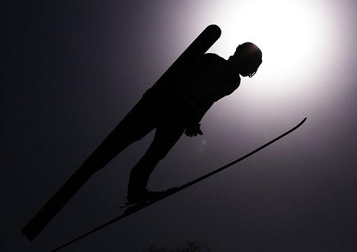 Image of Modern Ski Jumper